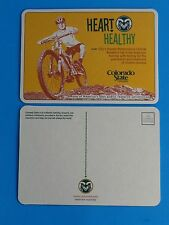 Beer COASTER~ COLORADO STATE UNIVERSITY ~ Human Performance Research Lab ~ Bikes