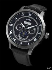 NEW MEN'S TIMEX AUTOMATIC SUN / MOON DISPLAY ANALOG WATCH T2N289