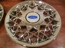 """Single 1998 1999 2000 2001 2002 Fits Crown Victoria 16"""" Hubcaps Wheel Cover"""