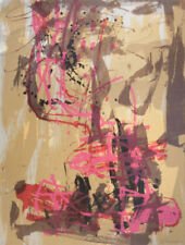 Pink Abstract Art Prints