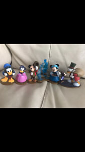 Christmas Disney Store Mickey Mouse Minnie Donald Duck Daisy Goofy Scrooge Set