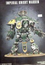 Warhammer 40K IMPERIAL KNIGHTS WARDEN Adeptus Titanicus Scout Titan Knight