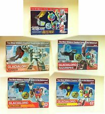 Fansproject Transformers Retro Glacialord Tusker Tailclub Fangro Set of 5 NEW