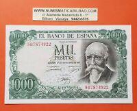 @SERIE 9B/922@ España 1000 Pesetas 1971 SC Pick 154R Echegaray UNC REPLACEMENT
