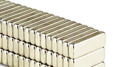 10 x Geocaching Neodym Magnet 12mm x 4mm x 2mm Quader Stift Neodymium rare Earth