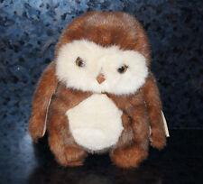 TY BEANIE HOOTERS Stuffed Animal OWL Plush Doll Cute Original Girl Boy Gift