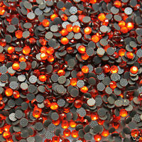 1000 Strass thermocollants Taille s 06-2 mm Coloris n°131 ORANGE