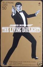 James Bond 007 The Living Daylights RARE JPN Phone Card