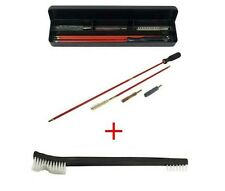 "6 Piece Rifle Cleaning Kit .30-30 .308 Caliber 30-06 28"" Cleaning Rod FREE BRUSH"