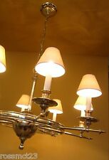 Very large High quality Silver plated chandelier