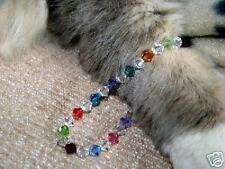 Multi-Color & Crystal Swarovski  stretch bracelet
