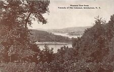 Kitchawan Ny The Colonial Hotel~Western View From Veranda~Morrill Press Postcard