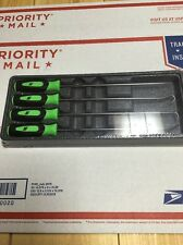 New Snap On Green Long Miniature Pick Set