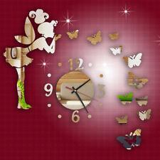 Modern DIY Wanduhr Schmetterling Wandaufkleber wand Clock Dekoration Clock Uhr