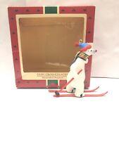 Hallmark Ornament - Goin' Cross Country - Polar Bear on Skis - 1988