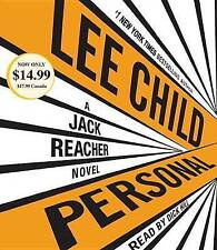 Personal: A Jack Reacher Novel by Lee Child (CD-Audio, 2015)