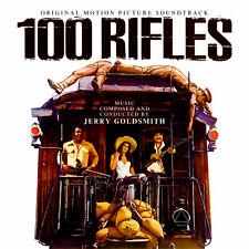 100 RIFLES / RIO CONCHOS Jerry Goldsmith 2-CD La-La Land SOUNDTRACK Score NEW!