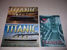 THE TITANIC STEAMER CRUISE SHIP UNUSED POSTCARD LOT #2