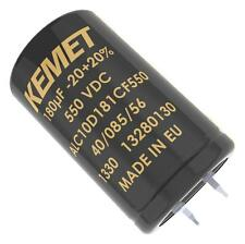 Capacitors - Aluminium Electrolytic - CAP ALU ELEC 82UF 550V SNAP-IN