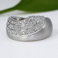 P1 Echtschmuck-Ringe aus Weißgold