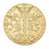 12 Constellation Gold Plated Commemorative Coin Collectible Gift (Gemini)