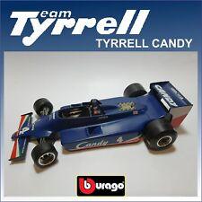 TYRRELL CANDY marca BURAGO SCALA 1:14 SENZA SCATOLA (C199)