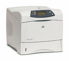 HP LaserJet 4200N printer  pages 24k  90 days warranty