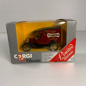 Corgi Classics Made in GB 1980s - 875 Ford T Van - Stollwerk