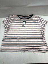 c219ee39a04 Target Wild Fable 3x Multi Stripe Short Sleeve Top Shirt - Hott Deals -