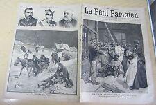 Le petit parisien 1891 150 La catastrophe à la manufacture de Saint-Etienne