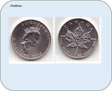 5 DOLARES DE PLATA AÑO 1998   CANADA    ( MB11419 )