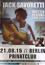 * Jack Savoretti 2015  * Orginal  Concert Poster DIN A 1 =  84 x 59 cm