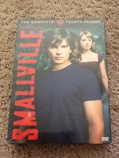 Smallville - The Complete Fourth Season (DVD, 2005, 6-Disc Set) SEALED A4
