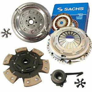 SACHS DUAL MASS FLYWHEEL AND PADDLE CLUTCH KIT FOR AUDI HATCHBACK S3 QUATTRO 8L1
