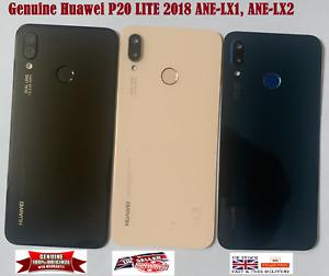 GENUINE HUAWEI P20 LITE ANE-LX1, LX2 Rear Battery Back Cover SCANNER Camera Lens