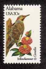 Scott #1953... 20 Cent...State Birds & Flowers/Alabama... 15 Stamps