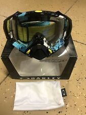 Oakley Men's Mayhem Pro Legacy MX Motocross Goggles - Clear Lens 7051-04
