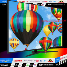"""TEAC 55"""" Inch 4K UHD SMART TV Netflix Youtube Made in EUROPE HDR 3 Year Warranty"""
