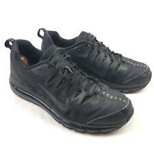 Nike Air Max 2009 Jacquard Mens 10 Black Athletic Running Shoes Sneakers