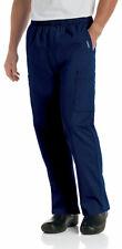 Landau Men's Two Mid Thigh Double Patch Pockets Cargo Scrub Pant. 8555