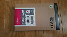 GENUINE EPSON T6173 MAGENTA INK B-500DN/B-510DN BUSINESS COLOR HIGH CAPACITY NEW
