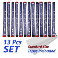 Winn DriTac set 13 azul golf pinzamientos golf Grip + cintas Standard Size Blue