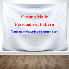 Personalised Custom Made Home Ceiling Decor Wall Hanging Tapestry Advertise Gift