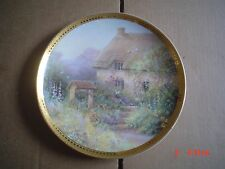 Franklin Mint Royal Doulton Collectors Plate COTTAGE AT WISHING WELL LANE