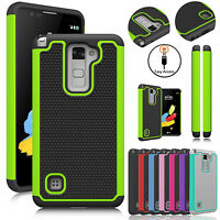 For LG Stylo 2/Stylo 3/3 Plus/Stylo 4 Phone Case Hybrid Shockproof Rugged Cover