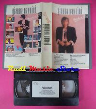 VHS GIANNA NANNINI Maschi e altri 1989 RICORDI MCN 1002 55 minuti no mc dvd lp