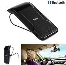 Wireless Bluetooth Sun Visor Clip In Car Kit Handsfree Speaker Talk While Drive