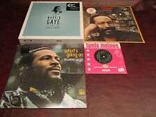 MARVIN GAYE LIMITED EDITION 180 GRAM BOX 7LP + WHAT'S GOING ON+MIDNIGHT LOVE+45