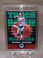 Tom Brady GREEN PRIZM MOSAIC TOUCHDOWN MASTERS SPECIAL INSERT TAMPA - Mint!