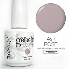 15ml Mabel's Gel Nail Art Soak Off Color UV Gel Polish UV Lamp - Ash Rose